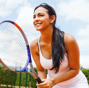 Matchless tennis player needs breast reduction have hit
